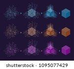 digital technology web banner.... | Shutterstock .eps vector #1095077429