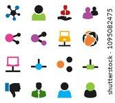 solid vector ixon set   client...   Shutterstock .eps vector #1095082475