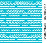 seamless abstract wave pattern... | Shutterstock .eps vector #1095089915