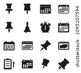 set of simple vector isolated... | Shutterstock .eps vector #1095107594