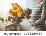 selective focus on surrogate... | Shutterstock . vector #1095109964