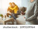 selective focus on surrogate... | Shutterstock . vector #1095109964