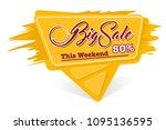 label big sale | Shutterstock .eps vector #1095136595