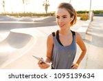 image of beautiful fitness...   Shutterstock . vector #1095139634