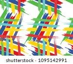 abstract seamless pattern ... | Shutterstock .eps vector #1095142991