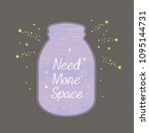 need more space illustration | Shutterstock .eps vector #1095144731
