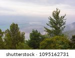 view of the hula valley from... | Shutterstock . vector #1095162731