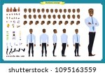 people character business set.... | Shutterstock .eps vector #1095163559
