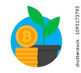 growth and development ico... | Shutterstock .eps vector #1095173795
