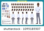 people character business set.... | Shutterstock .eps vector #1095185507