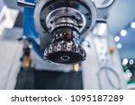 metalworking cnc milling... | Shutterstock . vector #1095187289
