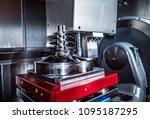 metalworking cnc milling... | Shutterstock . vector #1095187295