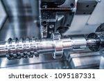 metalworking cnc milling... | Shutterstock . vector #1095187331