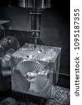 metalworking cnc milling... | Shutterstock . vector #1095187355