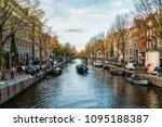 amsterdam  netherlands  ... | Shutterstock . vector #1095188387