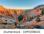 bryce canyon national park is a ... | Shutterstock . vector #1095208631