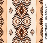 ethnic geometric abstract... | Shutterstock .eps vector #1095209174