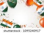 15 august.india independence... | Shutterstock .eps vector #1095240917