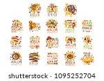 africa logo original design.... | Shutterstock .eps vector #1095252704