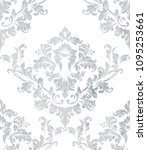 Damask Texture Pattern Vector....