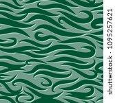 seamless wavy pattern. paper... | Shutterstock .eps vector #1095257621
