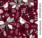 winter holiday seamless... | Shutterstock .eps vector #1095269141