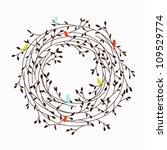nest frame | Shutterstock .eps vector #109529774