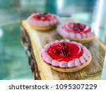 dessert with cottage cheese and ... | Shutterstock . vector #1095307229