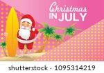 christmas in june  july  august ...   Shutterstock .eps vector #1095314219