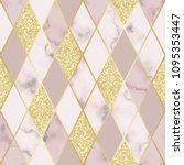 vector marble seamless pattern... | Shutterstock .eps vector #1095353447
