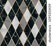 vector marble seamless pattern...   Shutterstock .eps vector #1095353459
