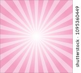 abstract pink colorful ray... | Shutterstock .eps vector #1095360449
