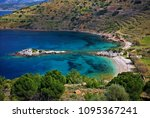 chios island  northeast aegean  ... | Shutterstock . vector #1095367241