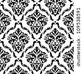 medieval floral seamless in... | Shutterstock .eps vector #109538591