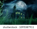Haunted House 3d Illustration