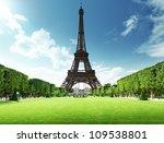 eiffel tower in paris  france | Shutterstock . vector #109538801