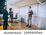 shot of a man giving a... | Shutterstock . vector #1095403544