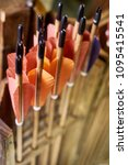 Small photo of Arrows for an arrow with a wooden rod