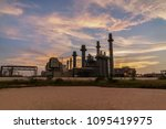 natural gas combine electric... | Shutterstock . vector #1095419975