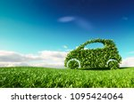 eco friendly car development ... | Shutterstock . vector #1095424064