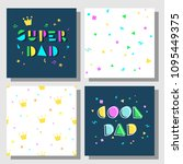 collection of postcards and... | Shutterstock .eps vector #1095449375