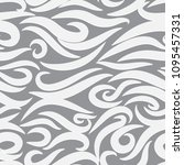 seamless wavy pattern. paper... | Shutterstock .eps vector #1095457331