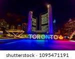 toronto  canada   january 18...   Shutterstock . vector #1095471191