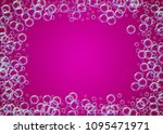 cleaning foam on gradient... | Shutterstock .eps vector #1095471971