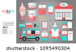corporate identity template set ...   Shutterstock .eps vector #1095490304