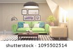 interior living room. 3d... | Shutterstock . vector #1095502514