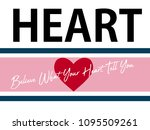 Text Red Heart Pink Line Art...