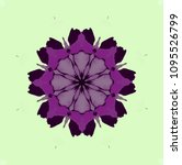 abstract eight directional...   Shutterstock . vector #1095526799