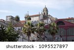 old oporto architecture seeing... | Shutterstock . vector #1095527897