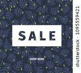vector banner for shop web site.... | Shutterstock .eps vector #1095559421